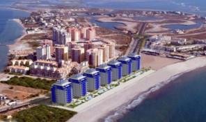 Новые квартиры между морем и заливом от застройщика в Ла Манга