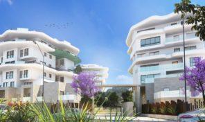 Новая квартира на первой линии пляжа от застройщика в Вильяхойоса