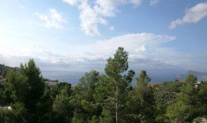 Земельный участок с видами на море в Альтеа